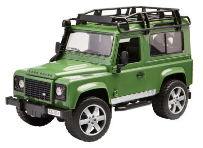 Модель автомобиля Land Rover Defender Station Wagon, Green