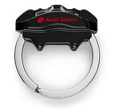 Металлический брелок Audi Sport Key ring brake caliper