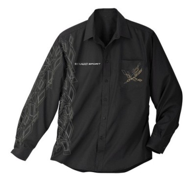 Мужская рубашка Renault Sport Men's Shirt Black