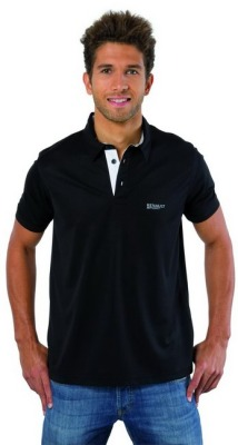 Мужская рубашка поло Renault Men's Polo Shirt Technic Black