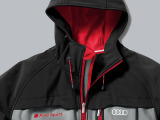Мужская куртка Audi Sport Mens Soft Shell Jacket Grey, артикул 3131201502