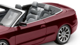 Модель Audi A5 Cabriolet, Shiraz red, 2013, Scale 1 43, артикул 5011105323