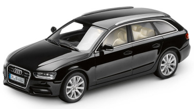 Модель Audi A4 Avant, Phantom black, 2013, Scale 1 43