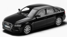Модель Audi A4, Phantom black, 2013, Scale 1 43