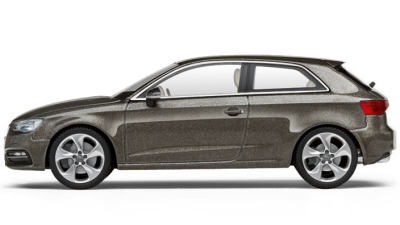 Модель Audi A3, Dakota grey, 2013, Scale 1 43