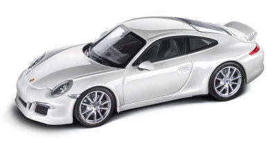 Модель автомобиля Porsche 991 Carrera S, Carrara White 1:43, Ltd. Edition