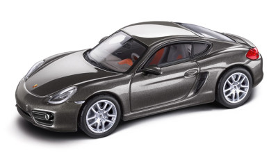 Модель автомобиля Porsche Cayman, Agate Grey Metallic 1:43