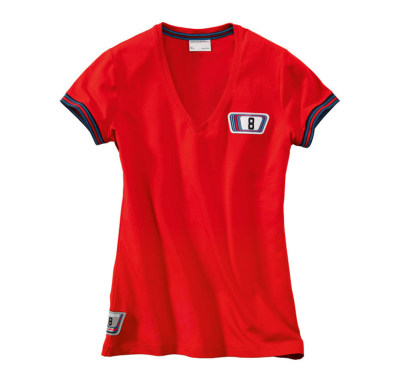 Женская футболка Porsche Martini Women's T-shirt Red