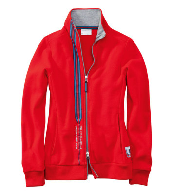 Женская куртка Porsche Martini Women's sweat jacket, red