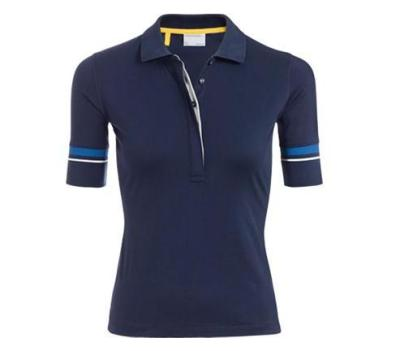 Женское поло Porsche Women's polo shirt Dark Blue
