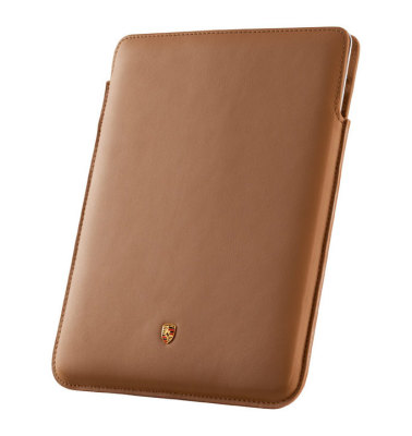 Кожаный чехол для iPad 2,3 Porsche Case for iPad 2 and 3, Cognac