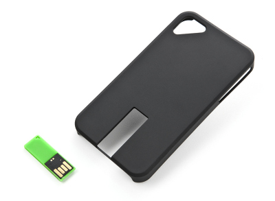 Футляр для iPhone Skoda iPhone cover with 8GB USB Flash Drive