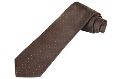 Галстук Mercedes-Benz Business Tie-Stripes Brown
