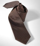 Галстук Mercedes-Benz Business Tie-Stripes Brown, артикул B66954965