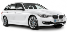 Модель автомобиля BMW 3 Series Touring (F31), Miniature White, Scale 1:18