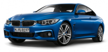 Модель автомобиля BMW4 Series Coupé (F32) Estoril Blue, Scale 1:43
