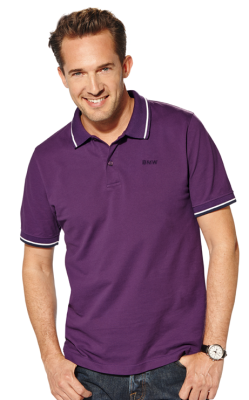 Мужская рубашка-поло BMW Collection Men's Polo Shirt purple