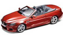 Модель автомобиля BMW M6 Convertible (F12 M) Orange, Scale 1:18