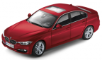 Модель автомобиля BMW 3er Limousine (F30), Melbourne Red, Scale 1:43