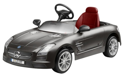 Детский электромобиль Mercedes-Benz Kids Electric Car SLS AMG Monza Grey