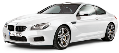 Модель BMW M6 Coupé (F13M) Alpine White, Scale 1:18