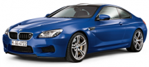 Модель BMW M6 Coupé (F13M) San Marino Blue, Scale 1:18