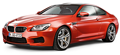 Модель BMW M6 Coupé (F13M) Sakhir Orange, Scale 1:18