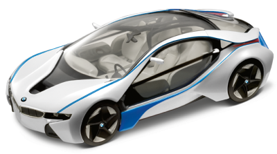 Модель BMW Vision EfficientDynamics, Scale 1:64