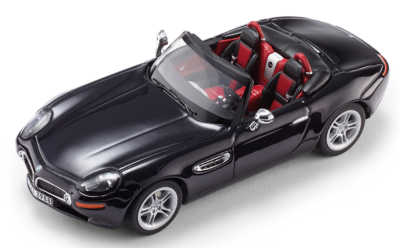 Модель BMW Z8 Convertible (E52) Carbon Black, Scale 1:43
