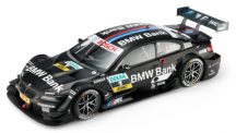 Модель BMW M3 DTM 2013 (E92) Black, Scale 1:43