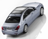 Модель автомобиля Mercedes-Benz S-Class W222, Diamond Silver Metallic 1:43, артикул B66960154