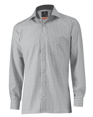 Мужская рубашка Mercedes-Benz Men's Long sleeved shirt, Grey