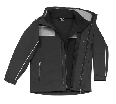 Мужская куртка две-в-одной Mercedes-Benz Trucker Men's 2-in-1 Jacket, Anthracite