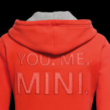 Мужская кофта Mini Men's Sweat Hoodie, You.Me.Mini. Orange, артикул 80142338803
