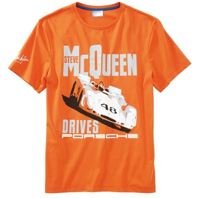 "Мужская футболка Porsche Men's ""car"" T-shirt – Steve McQueen™"