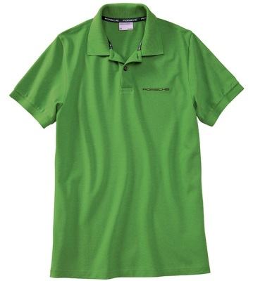 Мужское поло Porsche Men's polo shirt Green