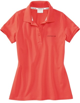 Женское поло Porsche Women's polo shirt Canyon Clay