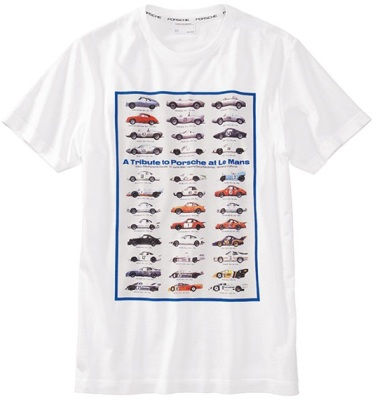 "Футболка унисекс Porsche ""A tribute to Porsche"" T-shirt"