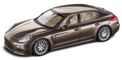 Модель автомобиля Porsche Panamera S (G1 II), Chestnut Brown Metallic