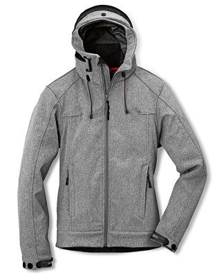 Женская куртка Audi Womens Softshell Jacket, Grey