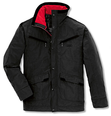 Мужская куртка Audi Mens Outdoor Jacket, RS, Black