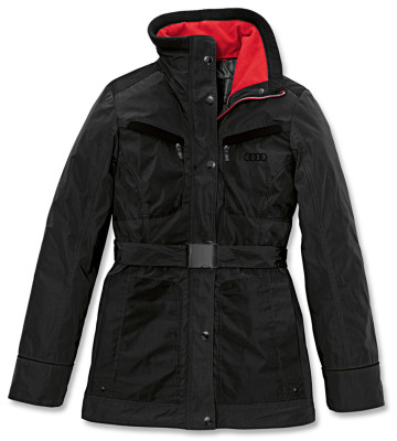 Женская куртка Audi Womens Outdoorjacket, RS, Black