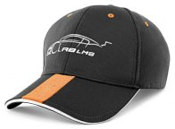 Бейсболка Audi Unisex Cap M, R8 LMS, grey/orange