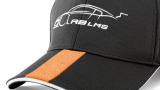 Бейсболка Audi Unisex Cap M, R8 LMS, grey/orange, артикул 3131205110