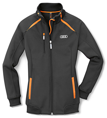 Женская куртка Audi Womens Fleece Jacket, R8 LMS, Grey/Orange