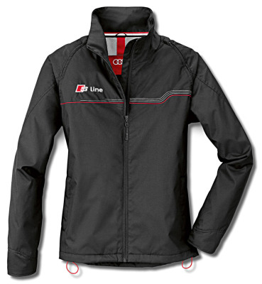 Женская куртка-жилет Audi Womens Zipoff Jacket, S line, Black