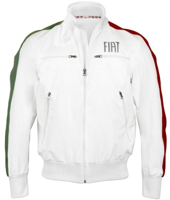 Мужская куртка Fiat white men's fiat jacket