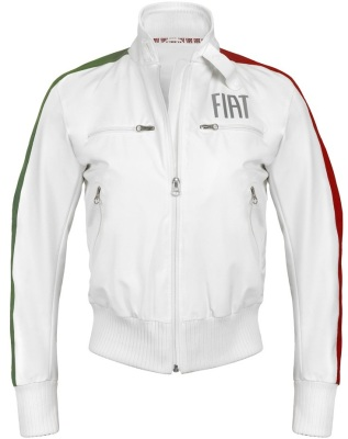 Женская куртка Fiat white women's fiat jacket