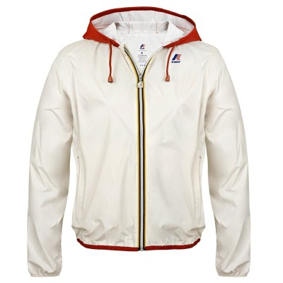 Женская куртка Fiat white and red 500c women's k-way