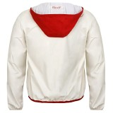Мужская куртка Fiat white and red 500c men's k-way, артикул 50906971